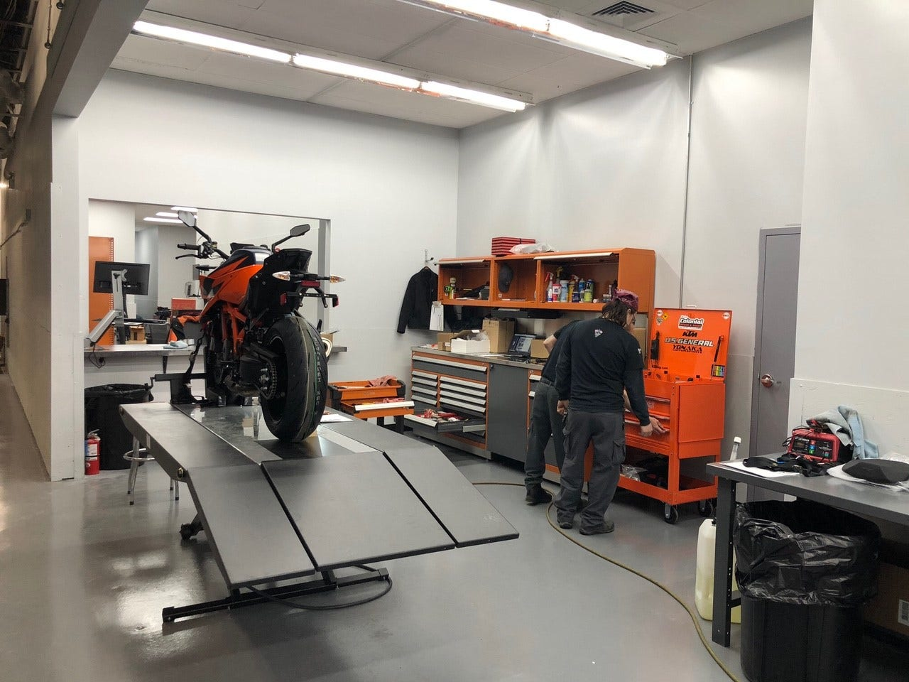 KTM PowerParts and Maintenance